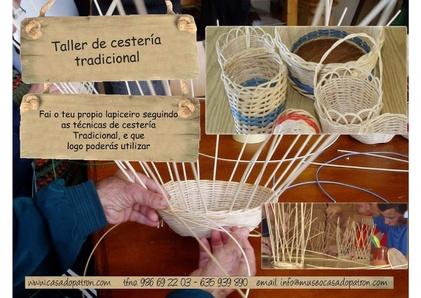 Taller de cestería tradicional